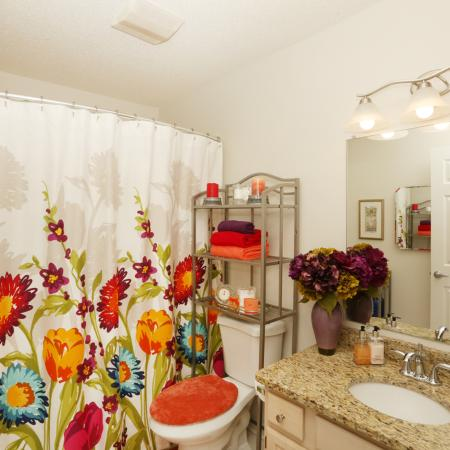 Ornate Bathroom | Apartments in Williamsville | StoneGate Apartment Homes