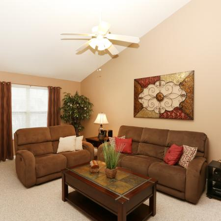 Elegant Living Room | Williamsville Apartments | StoneGate Apartment Homes