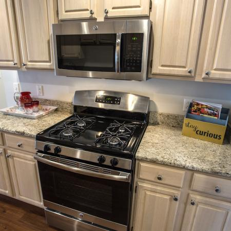 Stainless Steel Appliances at Elegant Kitchen | Apartments For Rent In Williamsville Ny | StoneGate Apartment Homes