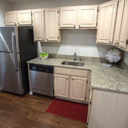 Great Work Space at Spacious Kitchen | Williamsville Apartments | StoneGate Apartment Homes