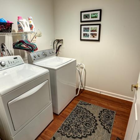 Laundry Room at Williamsville Apartments | StoneGate Apartment Homes
