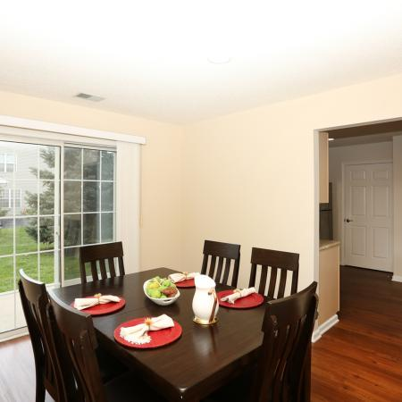 Vast Dining Room | Williamsville New York Apartments for Rent | StoneGate Apartment Homes