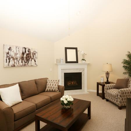 Luxurious Living Area | Apartments in Williamsville | StoneGate Apartment Homes