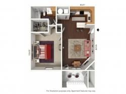 Floor Plan | Windsong Place Apartments