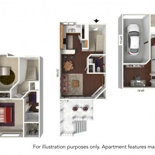 Floor Plan 7 | Windsong Place Apartments