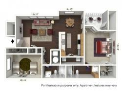 Floor Plan 3   Windsong Place Apartments