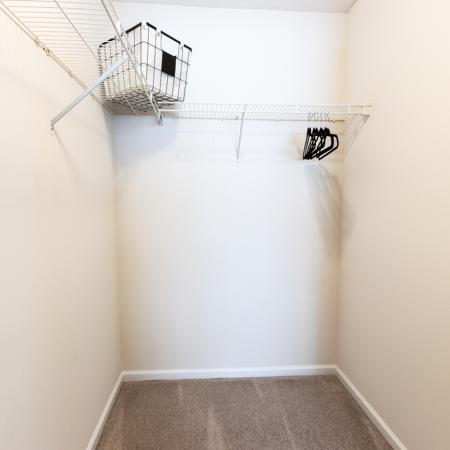 East Amherst Apartments | Spacious Closets