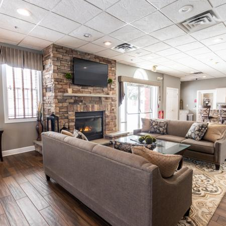 Lounge Area | Autumn Creek Apartments