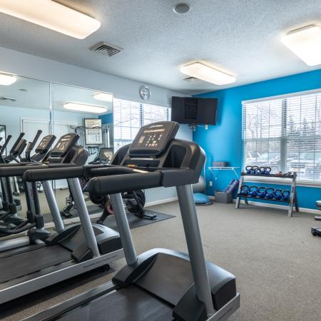 Cutting Edge Fitness Center | Apartments Homes for rent in Williamsville, NY | Renaissance Place Apartments
