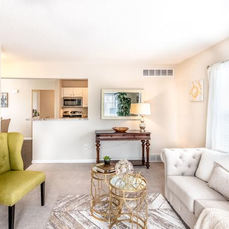 Elegant Living Room | Apartments for rent in East Amherst, NY | Autumn Creek Apartments
