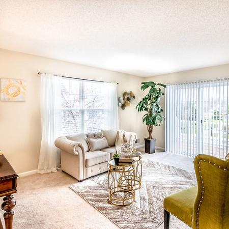 Luxurious Living Area | Apartment in East Amherst, NY | Autumn Creek Apartments