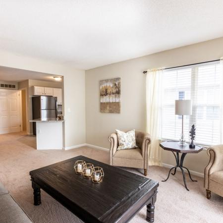 Elegant Living Room, 2 Bedroom 1.5 Bath | Apartments for rent in East Amherst, NY | Autumn Creek Apartments