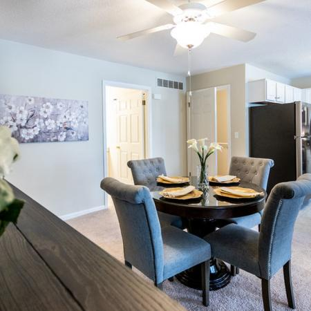 Kitchen & Dining Area| Apartments for rent in East Amherst, NY | Autumn Creek Apartments