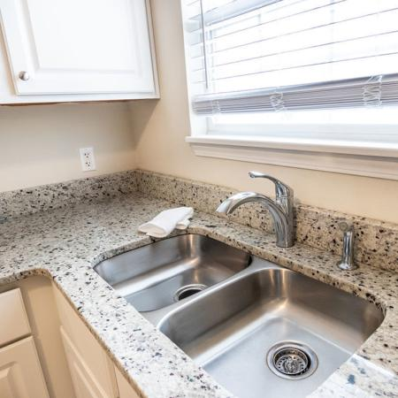 Kitchen Sink, 2 Bedroom 1.5 Bath| Autumn Creek Apartments