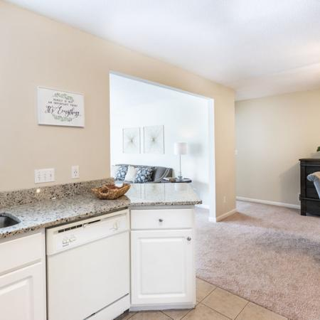 Kitchen and Dining Area | East Amherst NY Apartment For Rent | Autumn Creek Apartments