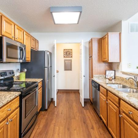 Kitchen Space | Windsong Place Apartments