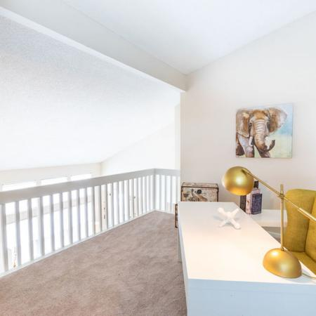 2 Bedroom Loft Area | Windsong Place Apartments
