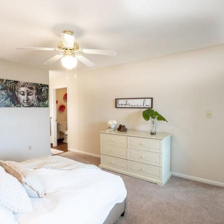 2 Bedroom Master Bedroom | Windsong Place Apartments