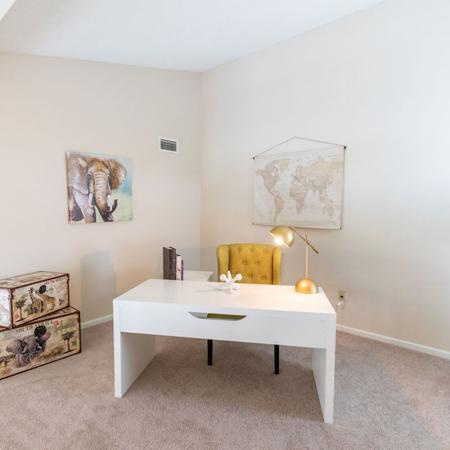 Loft Area in 2 Bedroom | Windsong Place Apartments