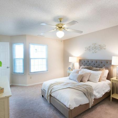 Elegant Master Bedroom | Apartments Buffalo , NY | Windsong Place Apartments