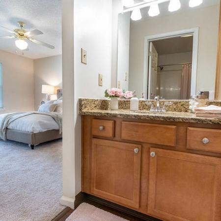 2 Bedroom, Bathroom Area | Apartments Buffalo , NY | Windsong Place Apartments