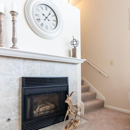 Fire Place, Living Area | Apartments for rent in Buffalo , NY | Windsong Place Apartments