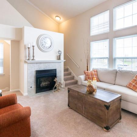 Elegant Living Room | Apartments for rent in Buffalo , NY | Windsong Place Apartments