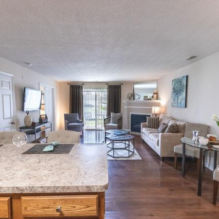 Spacious Kitchen Space | Windsong Place Apartments