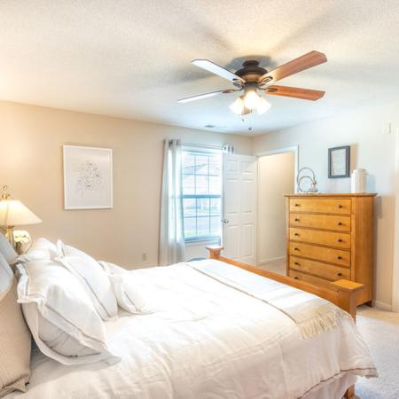Master Bedroom | Windsong Place Apartments