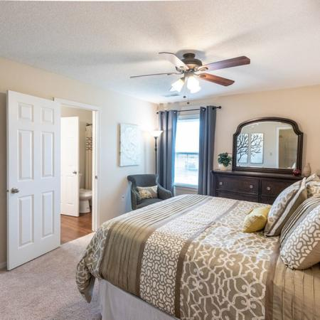 Master Bedroom Space | Windsong Place Apartments