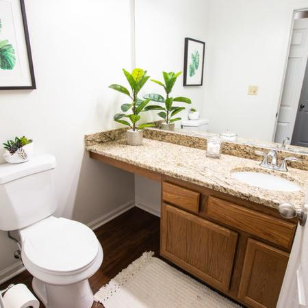 Bathroom 2 Bedroom | Windsong Place Apartments