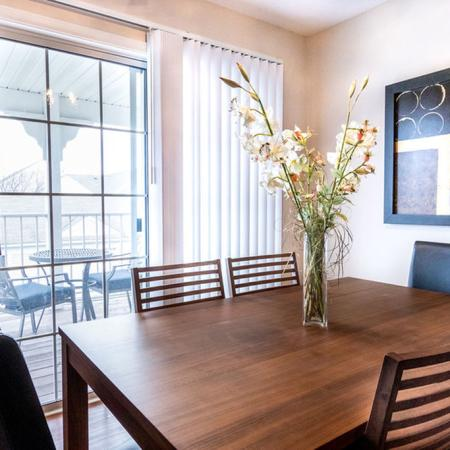 Luxurious Dining Room | Buffalo Ny Apartments | Windsong Place