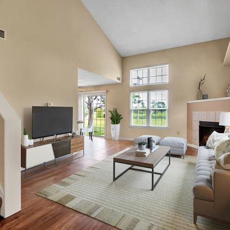 Luxurious Living Area | Apartment in Buffalo , NY | Windsong Place Apartments