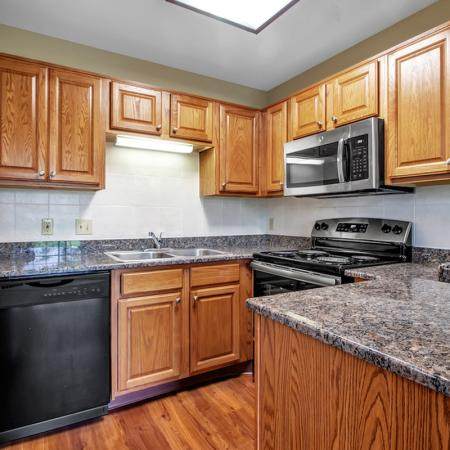 Spacious Kitchen | Apartments for rent in Buffalo , NY | Windsong Place Apartments