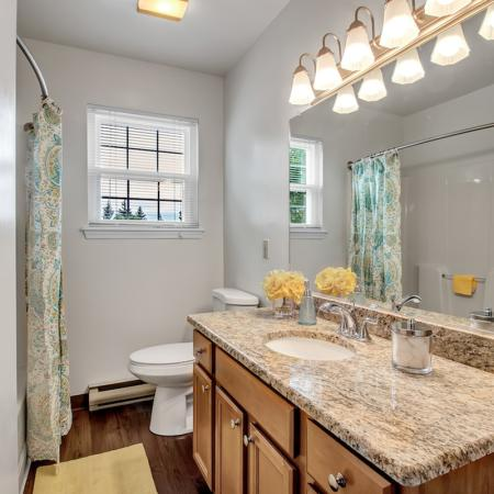 Luxurious Bathroom | Apartments for rent in Buffalo , NY | Windsong Place Apartments