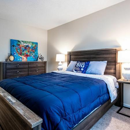 Elegant Bedroom | Buffalo Ny Luxury Apartments | Windsong Place