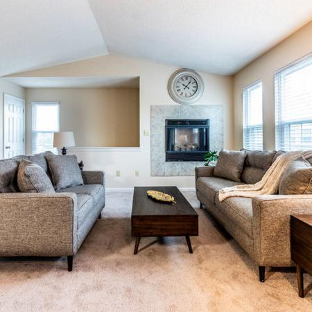 Private Entry into Open Concept Living Area | | Apartments Buffalo NY | Windsong Place