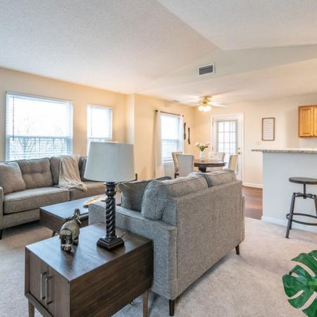 Luxurious Living Area | Apartments In Buffalo Ny | Windsong Place