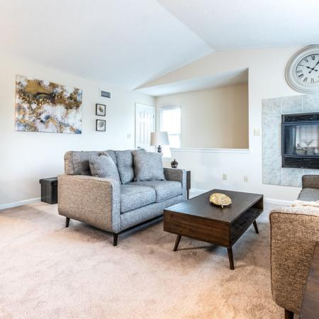Room to Stretch Out in Living Area | Buffalo Ny Luxury Apartments | Windsong Place