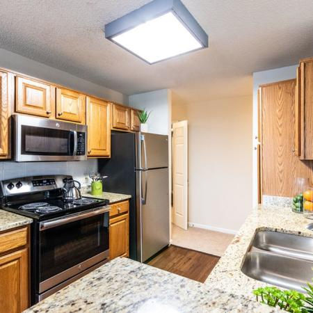 Modern Kitchen | Buffalo Ny Luxury Apartments | Windsong Place