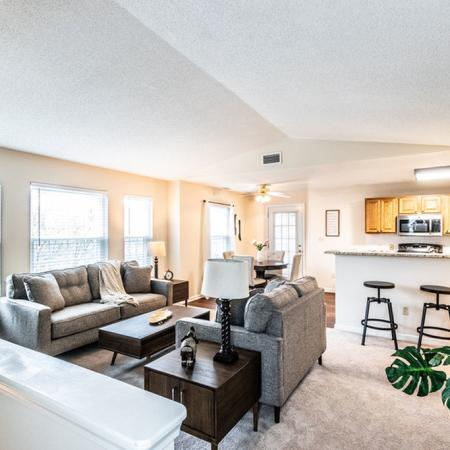 Luxurious Living Room | Buffalo Ny Apartments | Windsong Place