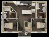 Progress 910 B1 Floor Plan