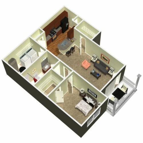 Floor Plan 4 | Madison New Britain 2