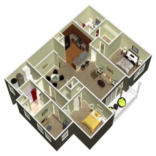 Floor Plan 21 | Madison New Britain 2