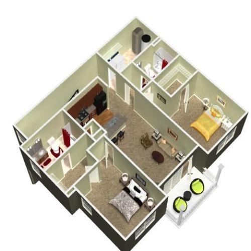 Floor Plan 18 | Madison New Britain 2