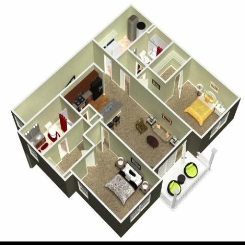 Floor Plan 16 | Madison New Britain 2