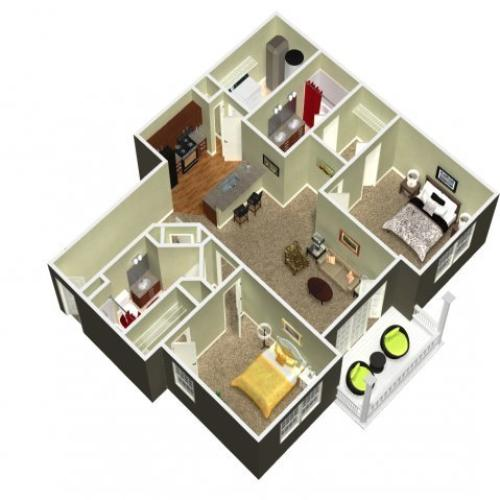 Floor Plan 15 | Madison New Britain 2