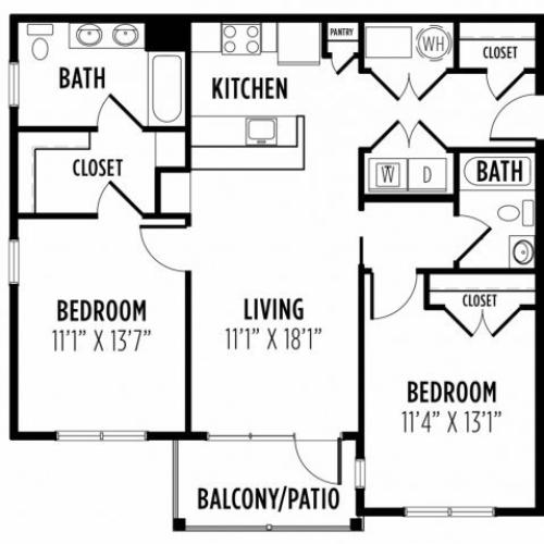 Floor Plan 14 | Madison New Britain