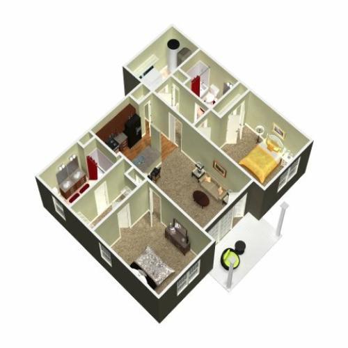 Floor Plan 13 | Madison New Britain 2