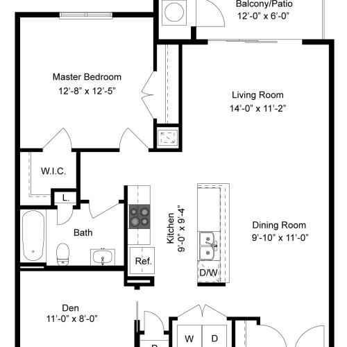 Floor Plan | Palmer View